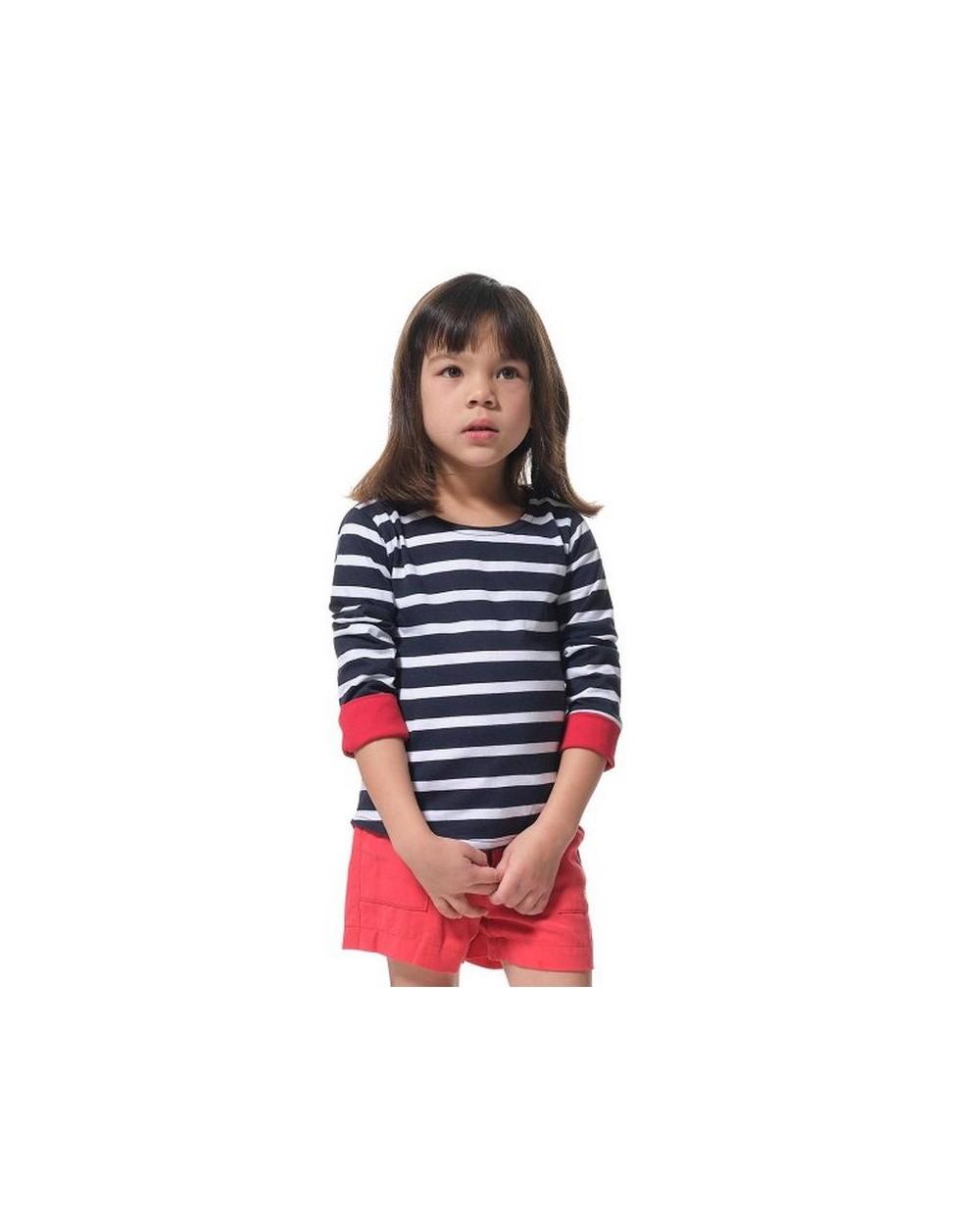 T-shirt marinière fille Hublot ADIX