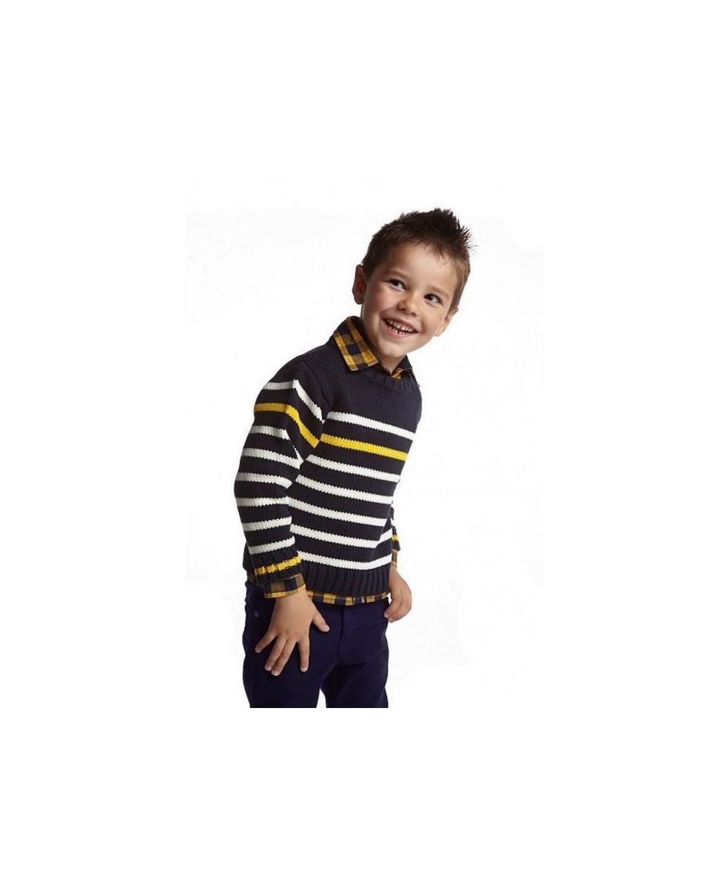 pull marin épais enfant