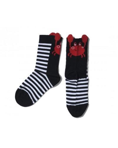 chaussettes Hublot enfant crabe