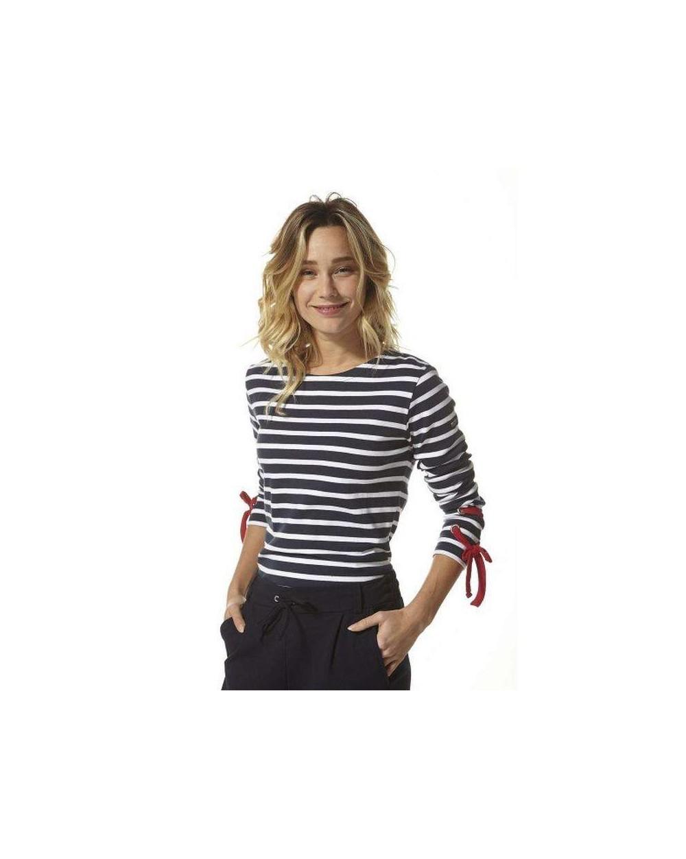 T-shirt femme rayé NICOSIE