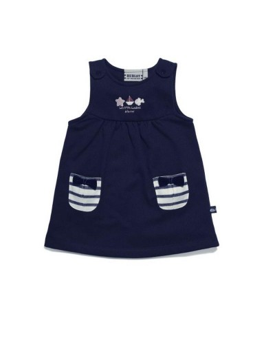 Robe bébé style marin Hublot PRINCESSE