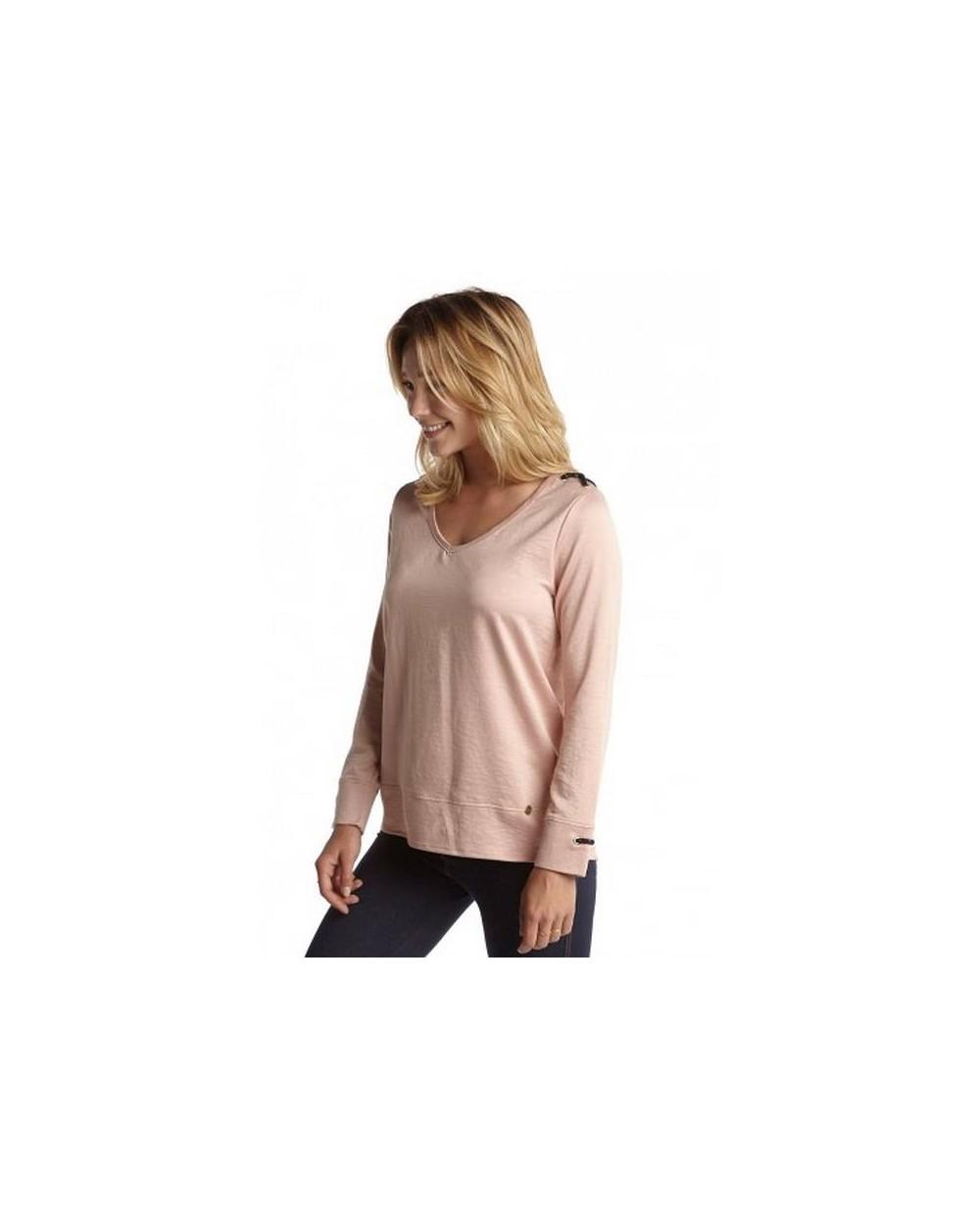 T-shirt femme chic manches longues URIELLE Hublot