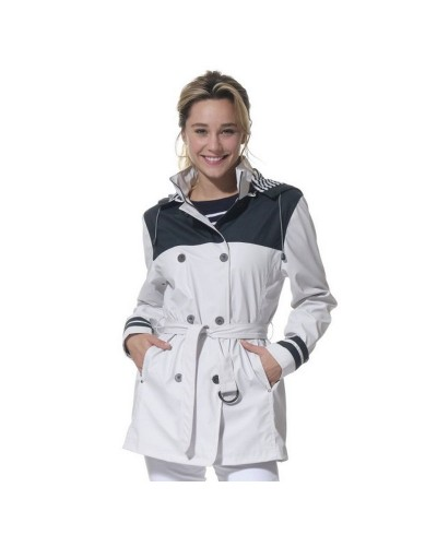 Trench coat capuche amovible femme ACACIE