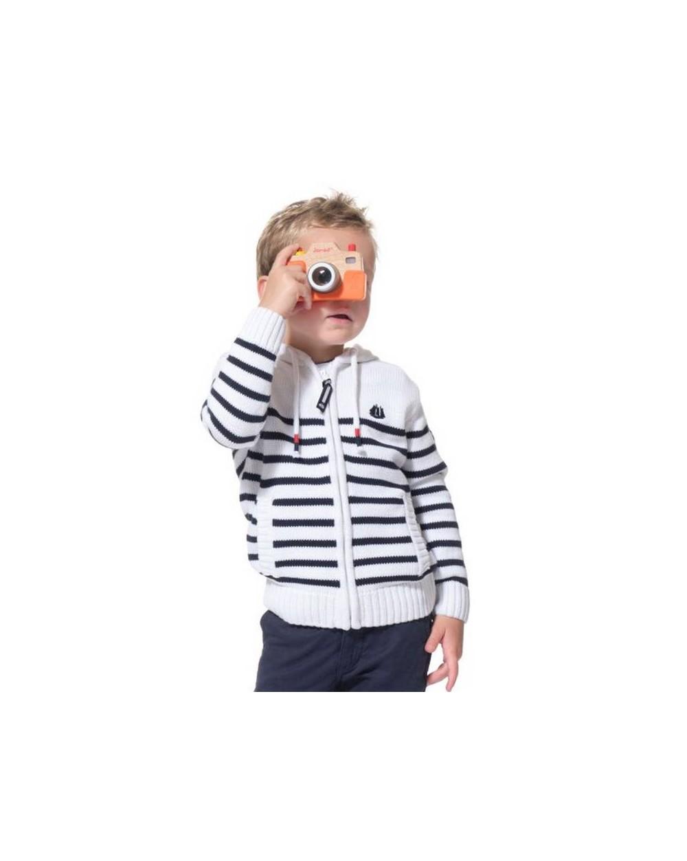 Veste zippée enfant à capuche BARTHY
