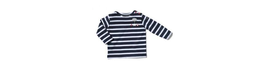 T-shirts & Marinières bébé - Touche Marine